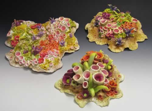 Donna Greenberg - Coral Reef Sculpture